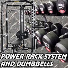 Power Rack System Dumbbell Gym