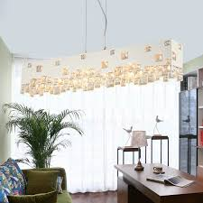 white color large pendant lights for living room modern style