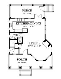 104 Tree House Floor Plan Windy Gap Nc0024 Design From Allison Ramsey Architects
