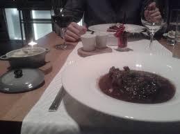 pot au feu prague beef cheeks by burgundy style grilled vegetable potato purée