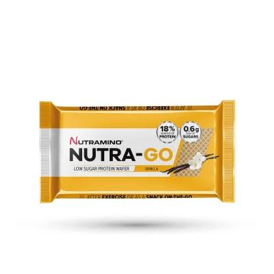 Nutramino Nutra Go Low Sugar Wafer - Vanilla, 19.5g