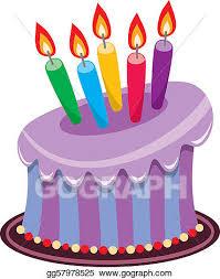369x470 Birthday Cake Candles Clip Art
