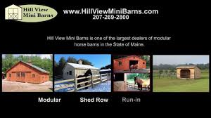 Horse Barns From Hill View Mini Barns - YouTube Ameristall Horse Barns More Than A Daydream Front View Of The Rancho De Los Arboles Barn Built By 183 Best Images About Barns On Pinterest Stables Tack Rooms And Twin Creek Farms Property Near Austin Inside 2 11 14 Backyard Outdoor Goods Designs Options American Barncrafters Custom Steel Youtube Metal Pa Run In Sheds For Horses House