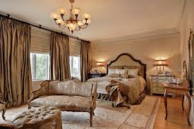 Classic Master Bedroom Ideas With Curtains And Drapes