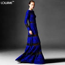 online get cheap modest blue long formal dresses aliexpress com