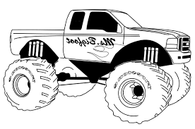 100 Monster Truck Coloring Book MIM5 Pages New