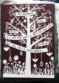 Family Tree Paper Cut By Emma Daniels