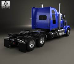Western Star 4900 SF Sleeper Cab Tractor Truck 2008 3D Model - Hum3D