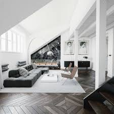 Homedesigning: (via 30 Black & White Living Rooms ... Viamartine Ladies Eightohnine Scandi Inspired Home 50 Home Office Design Ideas That Will Inspire Productivity Photos Gallery Of Modern Living Room Fniture Designs Awesome About Black And White Interior For Any Style Dcor The 25 Best Narrow Living Room Ideas On Pinterest Long Interesting Useful How Can You Make A Small Luxury Modern Ding Interior Design Youtube Layouts Hgtv Add Midcentury To Your