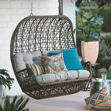Patio Cushion Sets Walmart by Patio Ideas Porch Swing Kits Canada Patio Swing Seat Cushions