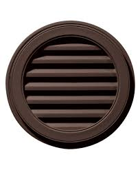 exterior solutions 22 w x 22 h round gable vent louver 50 sq