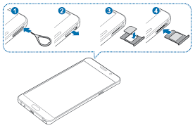 Galaxy Note 5 SIM card guide Galaxy Note Tips & Tricks
