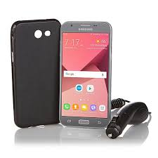 """Samsung Galaxy Emerge 5"""" No Contract Android Smartphone with Car"""