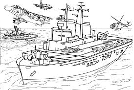 Army Coloring Pages Military Armament