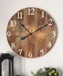 Architecture Big Wall Clock