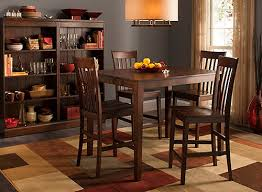 52nd street 5 pc counter height dining set cherry raymour