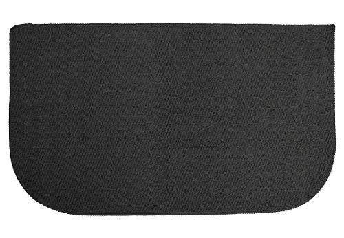 "Ritz Accent Rug - Latex Backing, 18""x30"", Black"