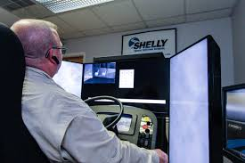 Producing A Confident Truck Driver With A Driving Simulator -