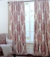 Cynthia Rowley Window Curtains by Amazon Com Tahari Home Paisley Scrolls Window Panels 52 By 96