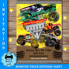 Grave Digger Birthday Party Invitations - Mickey Mouse Invitations ... Dump Truck Party Invitations Cimvitation Nealon Design Little Blue Truck Birthday Printable Little Boys Invites Monster Cloveranddotcom Fireman Template Best Collection Invitation Themes Blue Supplies As Blue Truck Invitation Little Cstruction Boy Vertaboxcom Bagvania Free