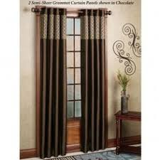 Brylane Home Sheer Curtains by Brylanehome Studio Sheer Voile Grommet Panels Curtains U0026 Drapes