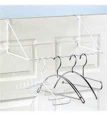 Add Storage To Your Home With The Over Door Wardrobe Rack Utilizing Unused Space Behind This Is Great For Hanging Coats Or