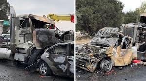 100 Ups Truck Accident Faulty Brakes May Have Caused 20 Car Pileup In Santa Cruz Abc7newscom