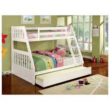 Bunk Bed Over Futon by Bunk Beds Twin Over Full Bunk Bed With Stairs Walmart Twin Over