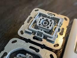 gira system 55 badezimmer steckdose schalter wippe zweifachrahmen