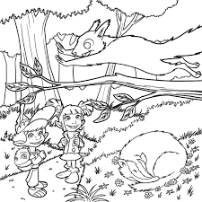 Coloriage Foret Coloriage Foret Foret 32 Natur 5629