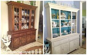 Diy Painted Furniture Before And After Hutches DIY Ideas