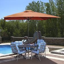 Patio Umbrella Offset Tilt by Outdoor Commercial Swing Set Light Blue Patio Umbrella At Home
