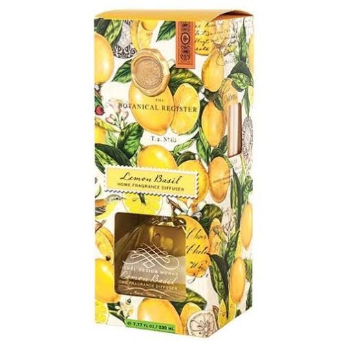 Michel Design Works Home Fragrance Reed Diffuser - Lemon Basil