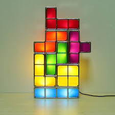 Tetris Stackable Led Desk Lamp Nz by Diy Led Desk Lamp Creative Diy Wooden Vintage Desk Lamp Table