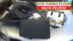 Bmw Floor Mats 7 Series by Ecs Tuning Floor Mats Review Bmw Floor Mats Bmw E65 E66 Youtube