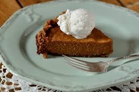 Pumpkin Pie With Gingersnap Crust Gluten Free by Cashew Ginger Crusted Gluten Free Pumpkin Pie Recipe Gluten Free
