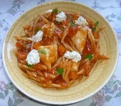 pates au blanc de poulet repas complet en 30mn pâte au poulet poivron carotte sauce tomate