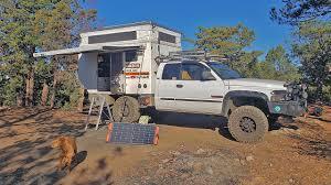 100 Pickup Truck Camper How I Live OFF GRID In My TRUCK CAMPER Using 2 SOLAR Panels