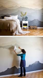 peindre mur chambre la fabrique à déco peindre un mur de façon originale