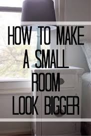 6 Tips Tricks For Making A Small Room Look Bigger