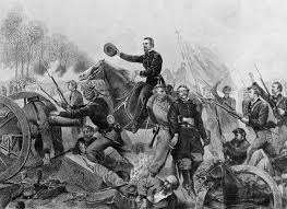 General Grant The Battle Of Wilderness Attack At Spottsylvania Courthouse Civil