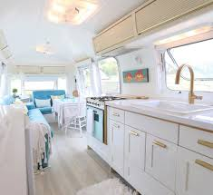 Vintage RV Camper Makeover And Remodel Ideas 9