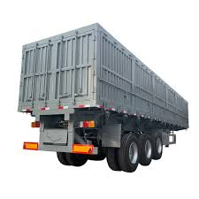 100 Semi Truck Trailers 3 Axles Fence Cattle Transport Stake Trailer For Sale Buy High Quality 40t China Fence Trailer13m Fence Trailer For