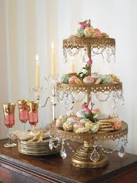 Similar Cake Stand For Macaroons Opulent Treasures Antiqued Gold 3 Tier Crystal Cupcake Dessert Wedding
