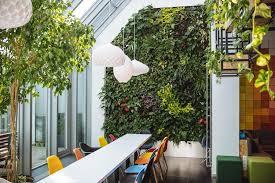 bureau eco idée déco bureau éco le jardin vertical est la grande tendance