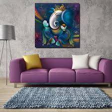 ganesha getaggt mit srivatya instagram leinwand malerei drucke wohnzimmer home dekoration moderne wand kunst ölgemälde poster