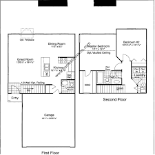 Centex Floor Plans 2010 by Old Renwick Trail Subdivision In Joliet Illinois Homes For Sale