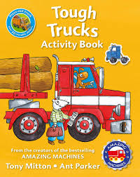100 Tough Trucks Buy Amazing Machines Activity By Tony Mitton With Free