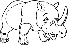 Coloring Page Zoo Animals 150