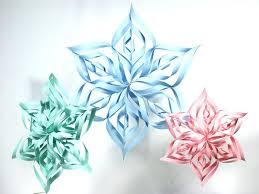 Snowflake Crafts For Preschool